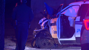 Suspect, officers hit by police cruiser during chase: police watchdog