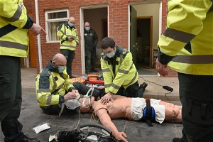 How a power company in Wales has helped aspiring paramedics
