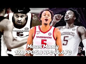 Arkansas freshman Moses Moody will hire an agent and enter NBA draft