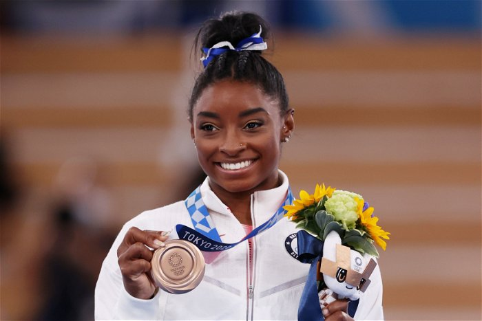 Simone Biles explains why she returned to Olympics on balance beam: 'Doing this for me'