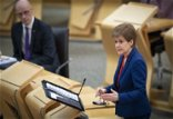 Nicola Sturgeon says secondary pupils will only return full-time after Easter holidays