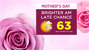CBS2 Weather Headlines: Cloudy Saturday With On/Off Showers; Sunny Start On Mother's Day