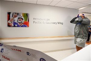 Allen tours Oishei's pediatric recovery wing dedicated to his grandmother