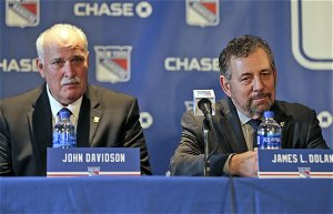 New York Rangers owner James Dolan, previously hands off, is now open to criticism