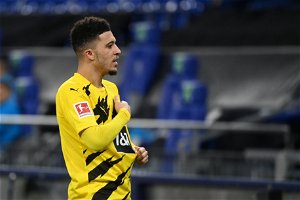 Man Utd-linked Sancho unsure over future but says he's 'very happy' at Dortmund