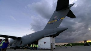 JBC Airlift Squadron delivers spacecraft to NASA