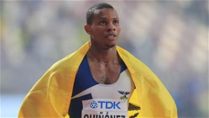 Olympics sprint champ 'assassinated' in horror video