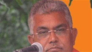 Mamata wants to meet PM to beg for funds: Dilip Ghosh