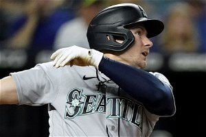 Kelenic 2 HRs off newcomer Heasley, Mariners beat Royals 6