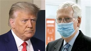 Trump: McConnell 'helpless' to stop Biden from packing court
