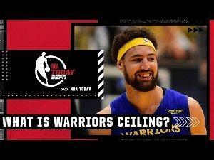 Kendrick Perkins believes the Warriors ceiling is the NBA Finals 🏆👀