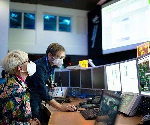 German Space Operations Center commands satellite with software of the future