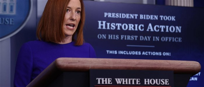 Press Sec Psaki Dodges Question On Biden Abortion Policy By Saying 'He's A Devout Catholic'