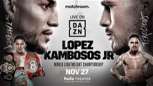 Lopez vs Kambosos tickets go on sale for fight date at MSG