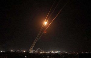 Three rockets launched from Syria toward Israel