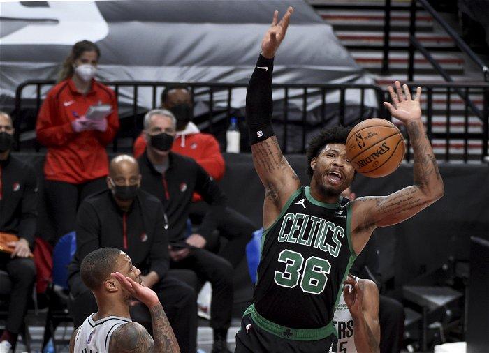 Blazers can't catch Celtics, fall 116