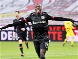 Bayer Leverkusen's Moussa Diaby terrorises Borussia Dortmund in 2