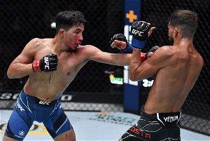 Adrian Yanez and Randy Costa react following incredible slugfest at UFC Vegas 32