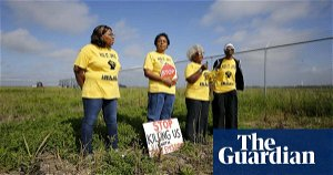 'This is environmental racism': activists call on Biden to stop new plastics plants in 'Cancer Alley'