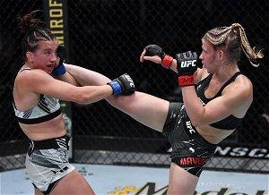 Pros react after Maycee Barber defeats Miranda Maverick at UFC Vegas 32