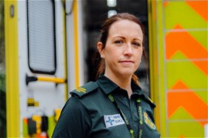 Paramedic spat at by patient during pandemic relives 'traumatic' ordeal
