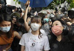 Hong Kong democracy activist Agnes Chow released from prison