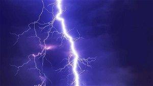 Michael Ward struck by lightning on the green