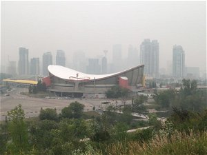 Special air quality statement issued for Calgary due to wildfire smoke - Calgary