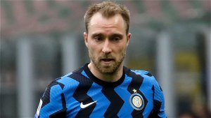 Eriksen visits Inter training for first time since Euros collapse as he waits to resume career