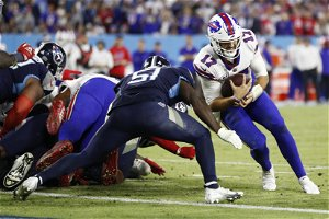 Bills' Sean McDermott explains decision on fourth-down attempt vs. Titans: 'Felt like we could go and win'