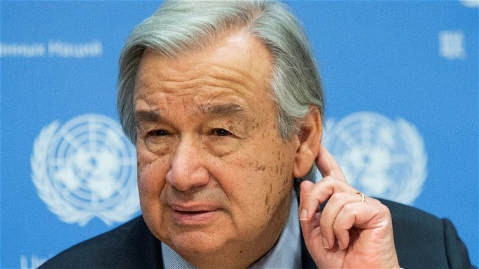 U.N. chief pushes tax on rich who profited during pandemic