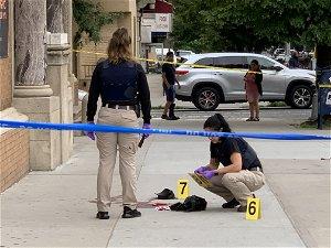 2 people shot outside Bronx church