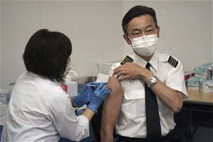 ANA begins on-site vaccinations, the first among Japanese firms