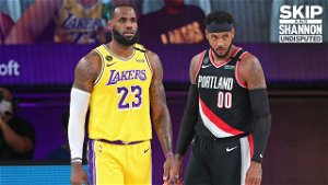 Together at last: Carmelo joins LeBron's Lakers to seek ring