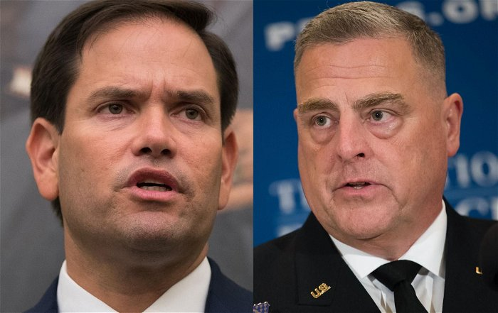 Rubio demands Biden fire Milley