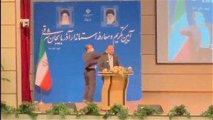 Iran provincial governor slapped in a rare security breach