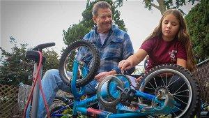 Northeast Philadelphia family donates bicycles to children in need