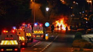 PSNI statement as three 14-year-olds arrested during Belfast riots