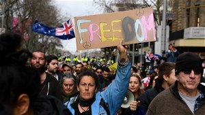 """Australians may face longer lockdown after """"reckless"""" mass protests"""