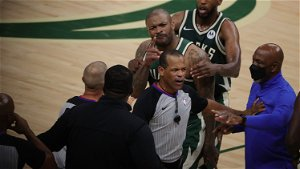 NBA reprimands Nets security guard who shoved Bucks' P.J. Tucker during altercation with Kevin Durant