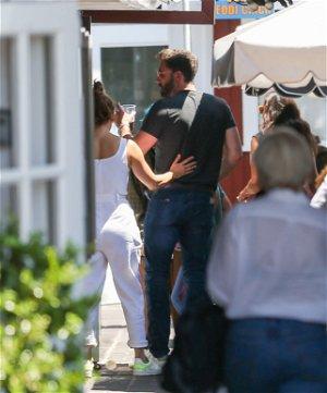 Jennifer Lopez Shares Steamy Kiss With Ben Affleck in Itty Bikini During Birthday Trip
