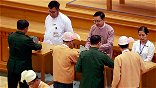 Reelected Myanmar Leader Faces Calls For Constitutional Change, Peace Drive