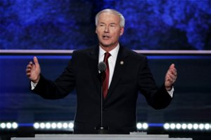 """GOP Gov. Asa Hutchinson deplores Trump attacks on McConnell: """"Let's get back to our principles"""""""