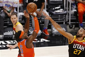 Luguentz Dort scores career-high 42 in Thunder's loss to Jazz