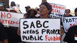 Union wants entire SABC board sacked as staff go on strike again