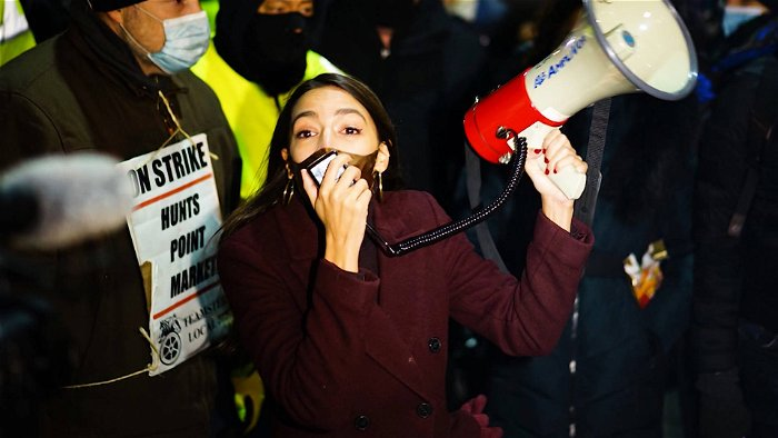 Why AOC Skipped the Inauguration to Join Striking Workers in New York City