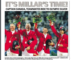 From the Archives: Repeat Olympians — It's Millar Time!