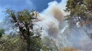 Fire sparks at campground in Placer County, forces evacuations