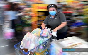 With upcoming lockdown, essential goods running out in Labuan