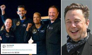 Elon Musk pledges $50 million toward Inspiration4 fundraiser for St. Jude